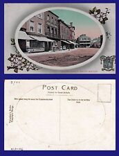UK DEVON SOUTH MOLTON BROAD STREET DIVIDED BACK POSTCARD CIRCA 1910