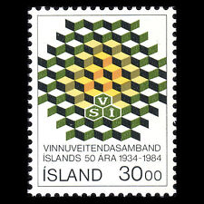 Iceland 1984 - 50th Anniversary of the Employers' Associations - Sc 599 MNH