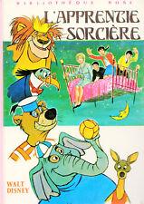 L'apprentie sorcière // Walt DISNEY // Bibliothèque Rose // 1 ère édition