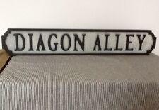 Di Diagon Alley effetto anticato stile Wall-GIARDINO sign. Harry Potter ispirato + fissaggi