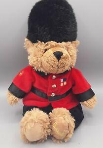 "Harrods Knightsbridge Queens Palace Guard Plush Teddy Bear 14"" London England"