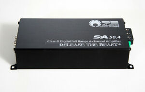 RE Audio SA50.4 4-Channel Amplifier - BRAND NEW