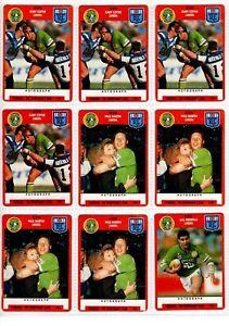 1991 Scanlens Stimorol Trading Cards *Pick from List Below *