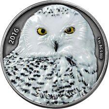 1000 Francs 2016 Burkina Faso - Schneeeule / Snowy Owl