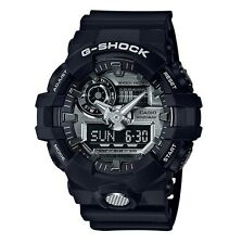 Casio G-Shock * GA710-1A Front Button Anadigi Silver Black Resin COD PayPal