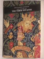 Ane Satyre of The Thrie Estaitis, Sir David Lindsay, Excellent Book
