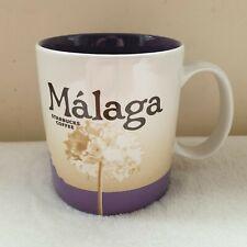 More details for starbucks malaga global icon series 16floz collectible mug **htf no sku**