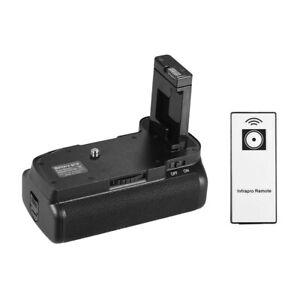 Vertical Battery Grip Holder for Nikon D5100 D5200 DSLR Camera EN-EL 14 Powered
