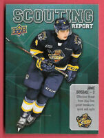 2019-20 Jamie Drysdale Upper Deck CHL Rookie Scouting Report - Erie Otters