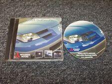2003 Mitsubishi Outlander Workshop Shop Service Repair Manual DVD LS XLS 2.4L