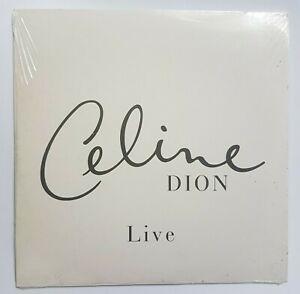 CELINE DION ♦ CD PROMO NEUF (mint & sealed) ♦ LIVE