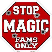 NBA Basketball Orlando Magic Metal Stop Sign ManCave Garage Barn Shop BS-264