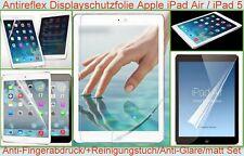 2 x Anti reflex glare Display Schutz Folie Apple iPad Air 5 matt Zubehör 3-lagig