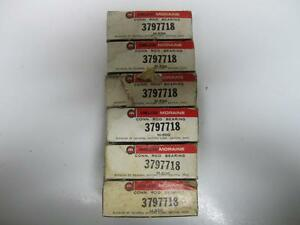 61-63 Chevrolet 8-409 STD Connecting Rod Bearings (6) NOS 3797718
