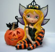 Jasmine Becket-Griffith Trick or Treat Fairy Figurine Bewitching Tales