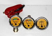 Oliver Tractor Oil Pressure Ammeter Temperature Gauge Set Replacement