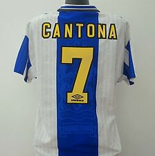 Manchester United Shirt CANTONA 7 Adult (L) 1994/1996 Away Football Jersey