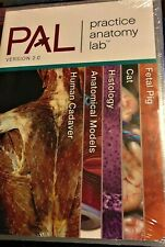 PAL:Practice Anatomy Lab DVD Version 2.0 by Ruth Heisler Nora Heber Like New