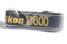 NEW Nikon D600 Genuine DSLR Camera Neck Strap / AN-DC8