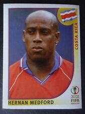 Panini Sticker 239 Hernan Medford Costa Rica WM 2002 Korea Japan