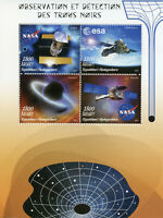 Madagascar Space Stamps 2019 MNH Black Holes Hubble Telescope NASA ESA 4v M/S