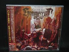 HAMMERCULT Built For War + 2 JAPAN CD Warbringer Solitary The Fading Acropolis