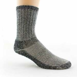 "Fox Wire Farm ""Heavy Duty"" Crew Length Men's Alpaca Socks (L)"