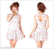 Genuine Liz Lisa Heart Shaped back Floral pattern Balloon Dress OP BNWT