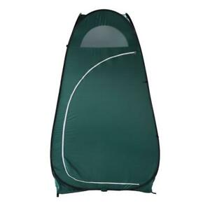 EZ Pop-up Toilet Dressing Fitting Room Privacy Shelter Camping Tent Green