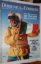 LA DOMENICA DEL CORRIERE 1 aprile 1969 Spedizione Mauri in Antartide Pirelli di