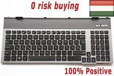 HU Magyar Hungarian backlit black keyboard for Asus GL771J//GL771JM//GL771JW