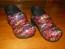 Dansko leather knitted pattern - Girl's sz 13.5 - Euro sz 31 - Excellent cond