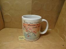 Follow Your Destiny Wherever It Leads You Mug, Blue Mountain Arts Inc (Used/EUC)