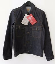 13oz CARHARTT Wip Raw Denim giapponese Stadium Jacket 38 WORK IN PROGRESS Ridged