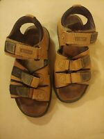 Dunlop Golf Sandals Women's Ladies Leather Spikes Size 7 Adjustable Straps