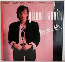 """12"""" Vinyl - GIANNA NANNINI - Maschi e Altri"""
