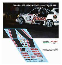 #12 RALLYE KRAKOWSKI 1997 PRZYBYLSKI D43005 DECALS 1//43 FORD ESCORT WRC