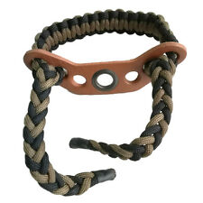 Archery Durable Bow Sling paracordWrist Sling Copper Ring Recurve & Compound Bow