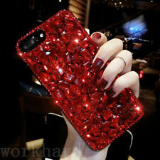 New Rhinestone Bling Gril's Diamond Jeweled Crystal Hard Back Phone Case Cover