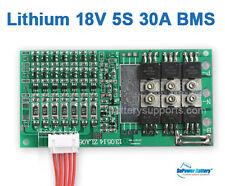 18V 21V 18.5V 5S 30A Lithium 5x 3.6V / 3.7V Li-ion LiPo Polymer Battery BMS PCB