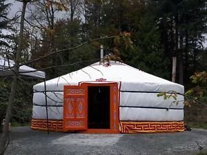 Authentic Mongolian handmade Yurt Tent for Glamping, Camping