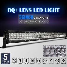 "936W 36INCH LED LIGHT BAR DUAL COLOR SPOT FLOOD COMBO DRIVING 32"" 35"" 37"" 38"""
