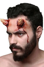 EVIL DEVIL LARGE HORNS - TWO LATEX PROSTHETIC WOUND APPLICATION HALLOWEEN HORROR