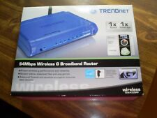 Trendnet 54 Mbps Wireless G Broadband Router