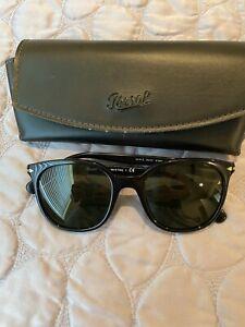 Persol Women's Italian Sunglasses - Black