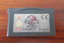 JURASSIC PARK  III  DINO ATTACK         ---   pour GAME BOY ADVANCE