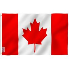 ANLEY Canada National Banner Polyester 3x5 Foot Country Flags Canadian Flag