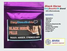 5 BLACK HORSE SEX CAPSULES FOR MEN-STRONG SEX PILL-HARDER,THICKER&LONG LASTING
