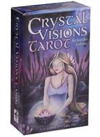 Crystal Visions Tarot CARD DECK + Booklet U.S. GAMES