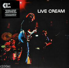 CREAM - LIVE CREAM, 2015 EU 180G vinyl LP + MP3, NEW - SEALED! FREE SHIPPING!